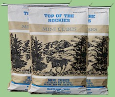 Bags of Top Of The Rockies mini cubes.